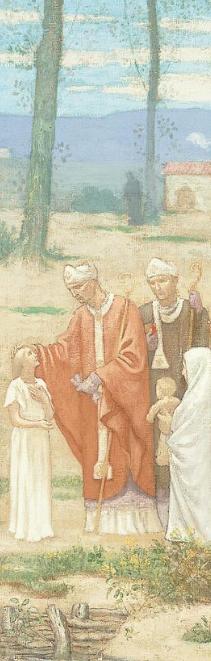 Vie de sainte Geneviève par Pierre Puvis de Chavannes (détail)